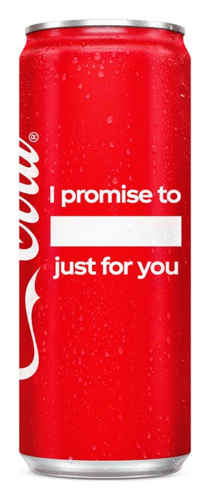 I promise to ____, just for you - Coca-Cola Original Taste