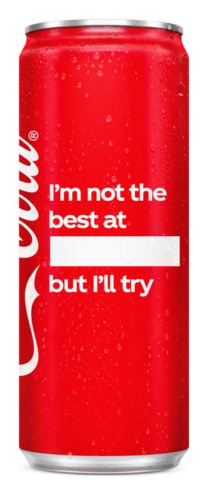 I'm not the best at ____ but I'll try - Coca-Cola Original Taste